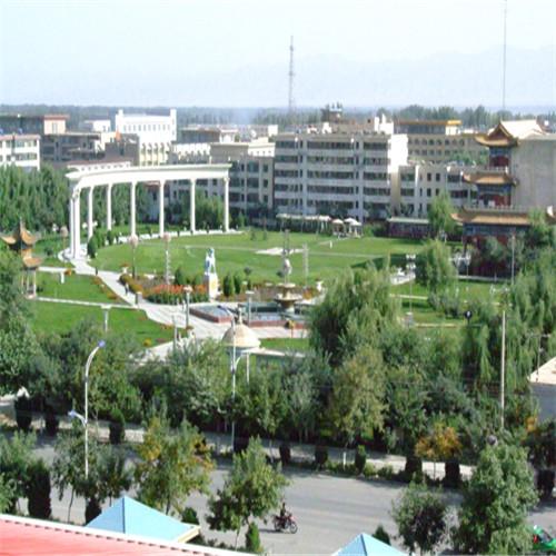 新疆智能水炮在广场上普及使用