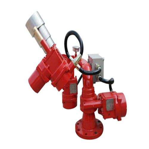 企业主打产品PPKD电控泡沫炮