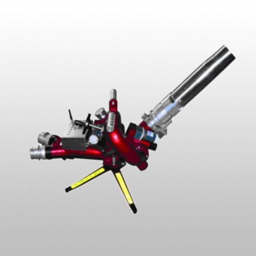 移动式自摆电控消防炮