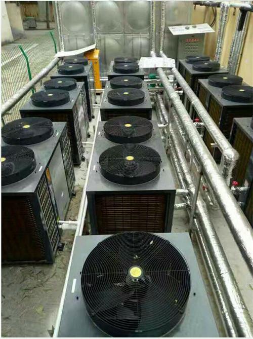 洛阳空气能采暖机安装案例之郑州电力职业技术学院