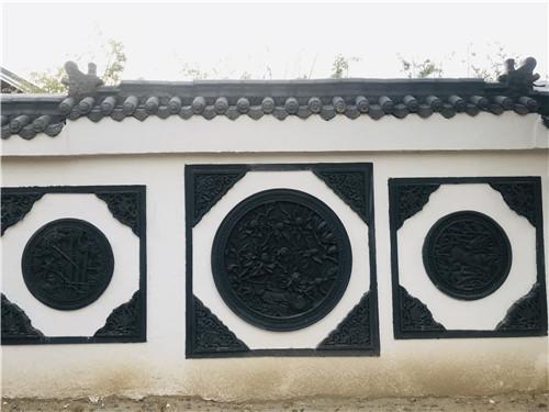 河南古建景观墙设计