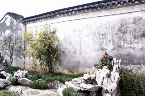 河南古建景观墙