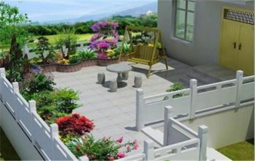 庭院屋顶绿化设计