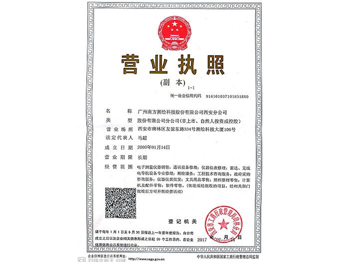 AG视讯營業執照