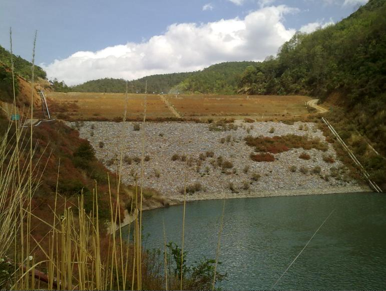 雲南省彌渡縣九頂山礦業有限公司竹子箐尾礦庫在線安全監測係統