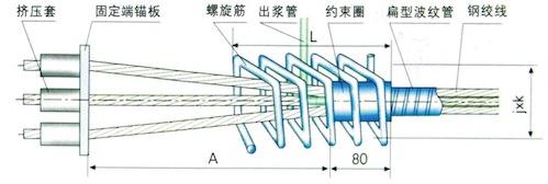 BM15(13)固定端P型锚具