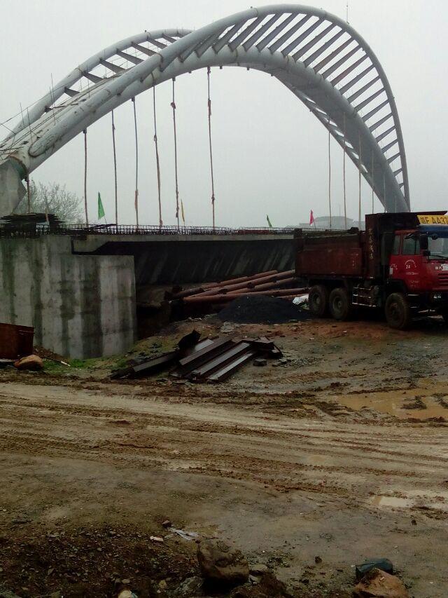 中铁大桥局七公司宜昌市庙嘴长江大桥项目经理部