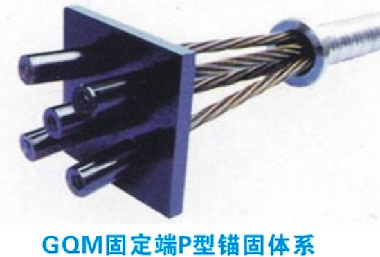 GQM固定端P型锚具