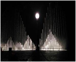 四川音乐喷泉项目在眉山坐落