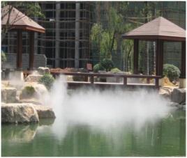 四川冷雾喷泉