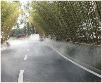 四川冷雾喷泉工程