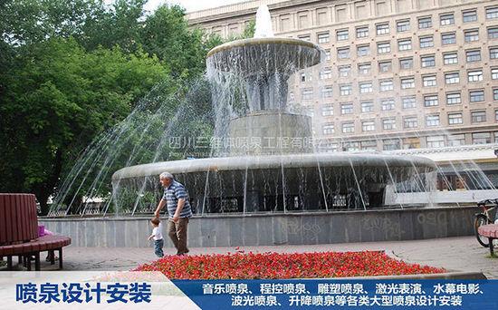 怎么让四川音乐喷泉所展现的水更加清澈?