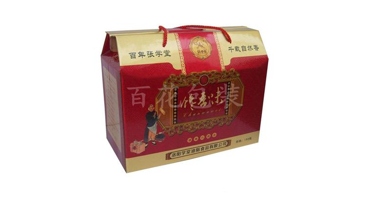 郑州瓦楞纸箱合作客户:洛阳学堂油脂食品有限公司