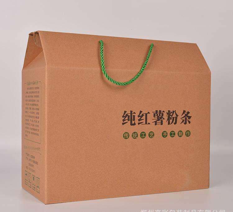驻马店粉条纸箱设计