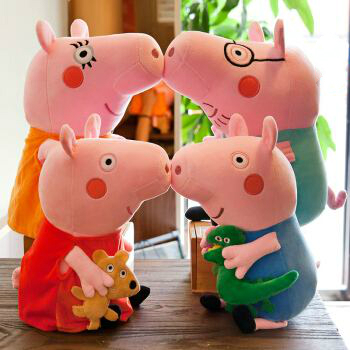 毛绒玩具小猪佩奇