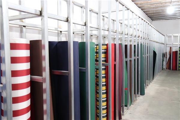 产品展示间-西安伸缩雨棚