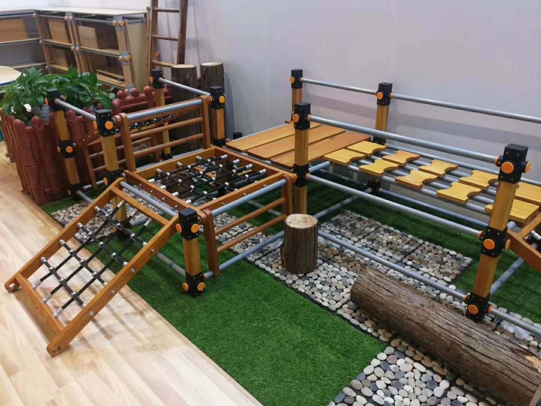 幼儿园户外玩具-组爬架