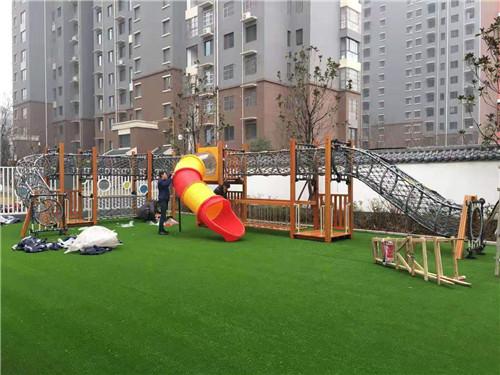 幼儿园户外玩具安装测试