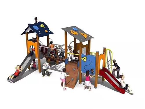 幼儿园户外玩具客户定制样品及效果