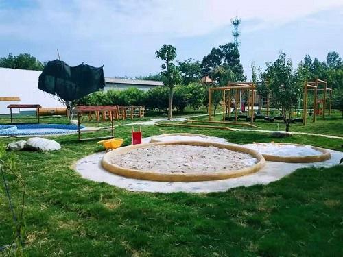 幼儿园户外玩具沙池
