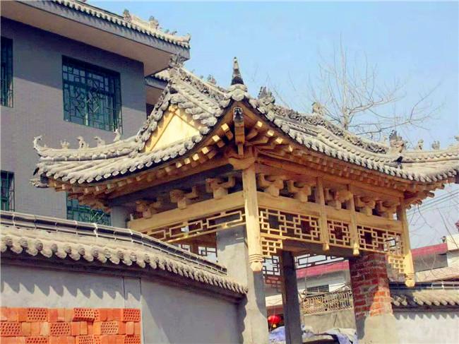 防腐木长廊文化