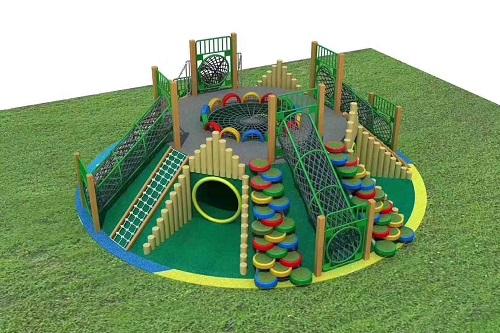 如何搭配使用幼儿园户外大型玩具