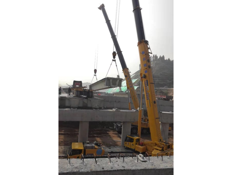预制结构桥梁吊装