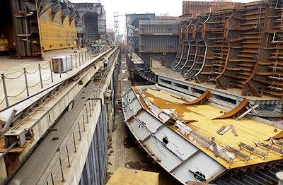 船舶制造流程你知道吗?