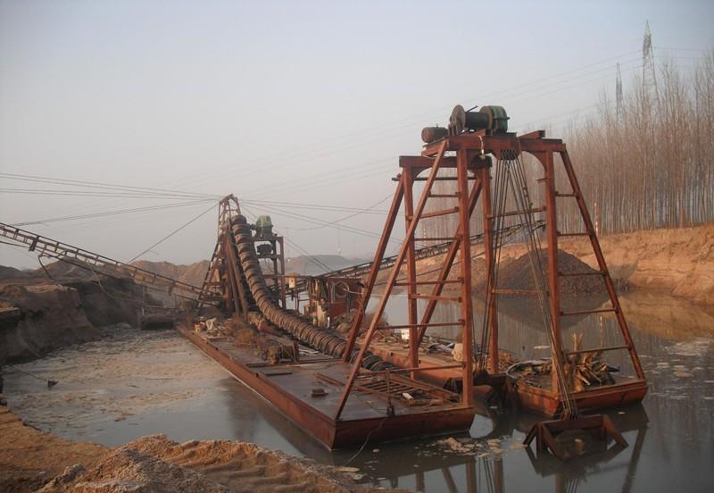 四川挖沙船