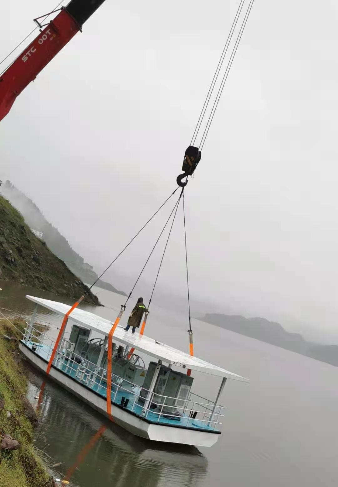四川充电趸船案例