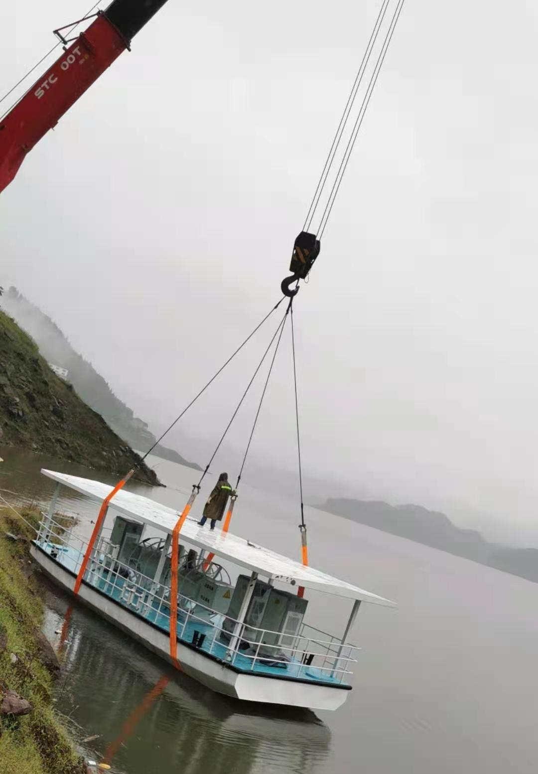 四川充电趸船