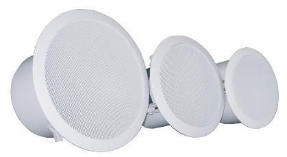专业级处理器及周边设备-ASHLY EXP - CS 吸顶音箱系列