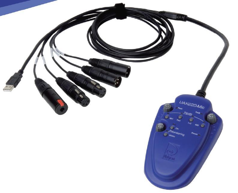UAX 220-Mic专业USB音频声卡