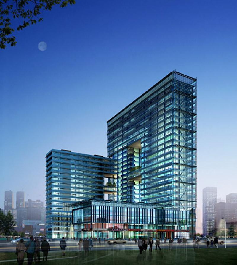 杭州地铁二号线大楼