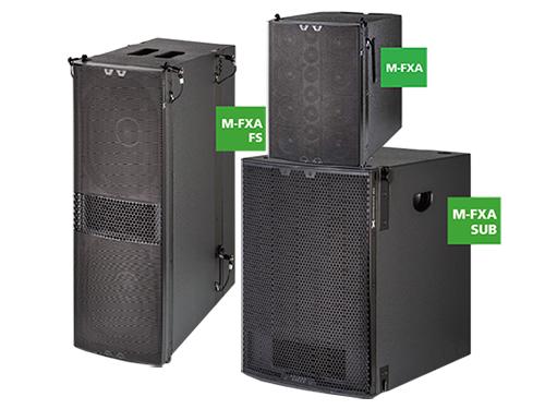 【SE AUDIOTECHNIK】M-FXA系列全新高端固定安装系统