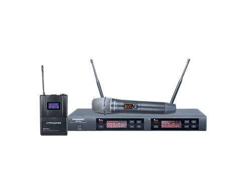 PAW-920 双通道真分集120频道无线麦克风