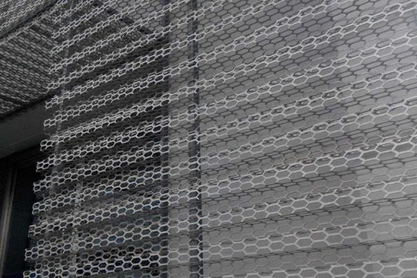 裝飾沖孔網案例
