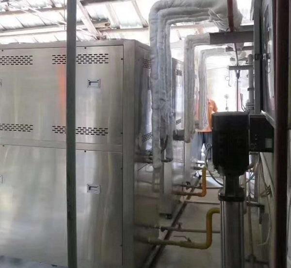 进行四川热水工程案例