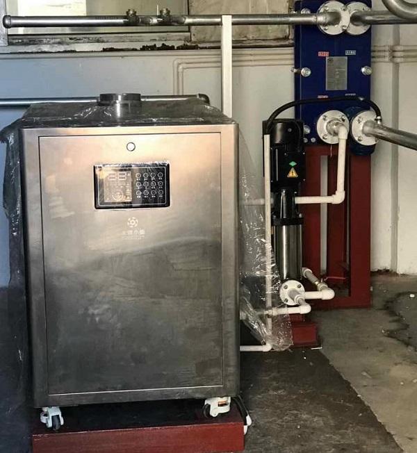 新装生产线蒸汽锅炉