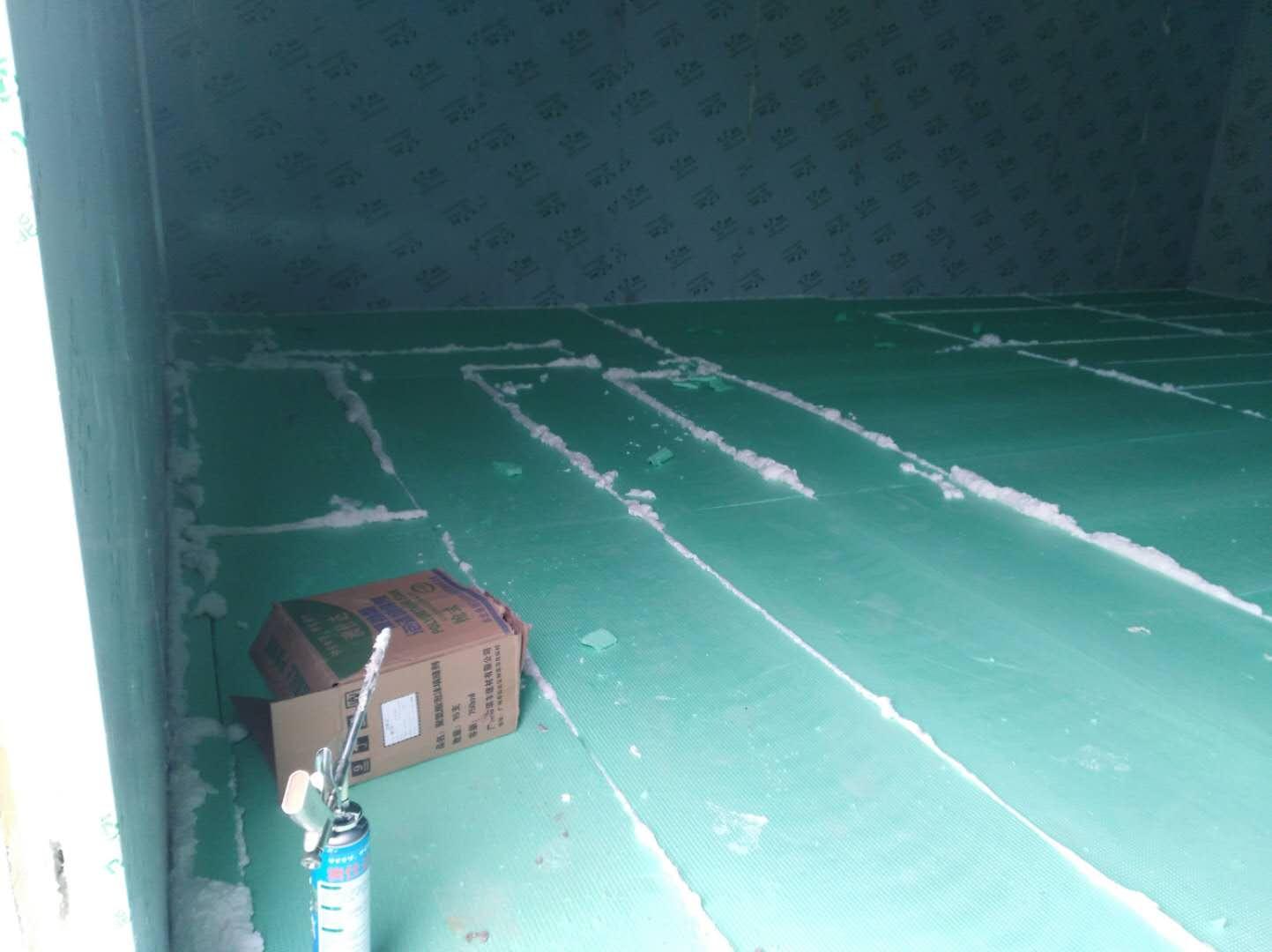 德阳恒盛通合作社种植基地冷冻冷藏库的订制,设计及施工。(一)