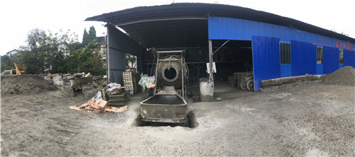 程德水泥生产的南充水泥管展示