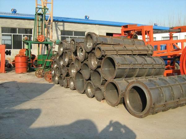 程德水泥制品厂使用的南充水泥管模具有哪些组成部分?