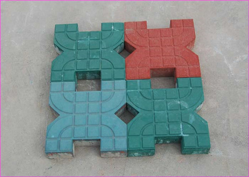 彩色透水砖