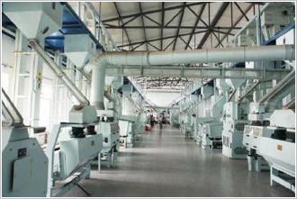 黑龙江绥化阜康米业日处理300吨生产线
