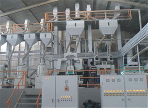 印度尼西亚泗水日产120吨碾米成套设备