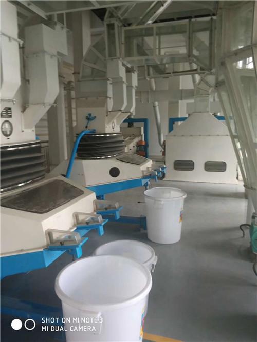 河南碾米成套设备车间展示