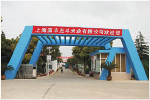 上海长江农场日产120吨精米生产线