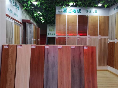 湖北竹地板——王总的店面样品升级案例
