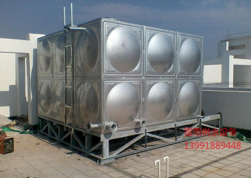 商洛学校合作不锈钢水箱18吨