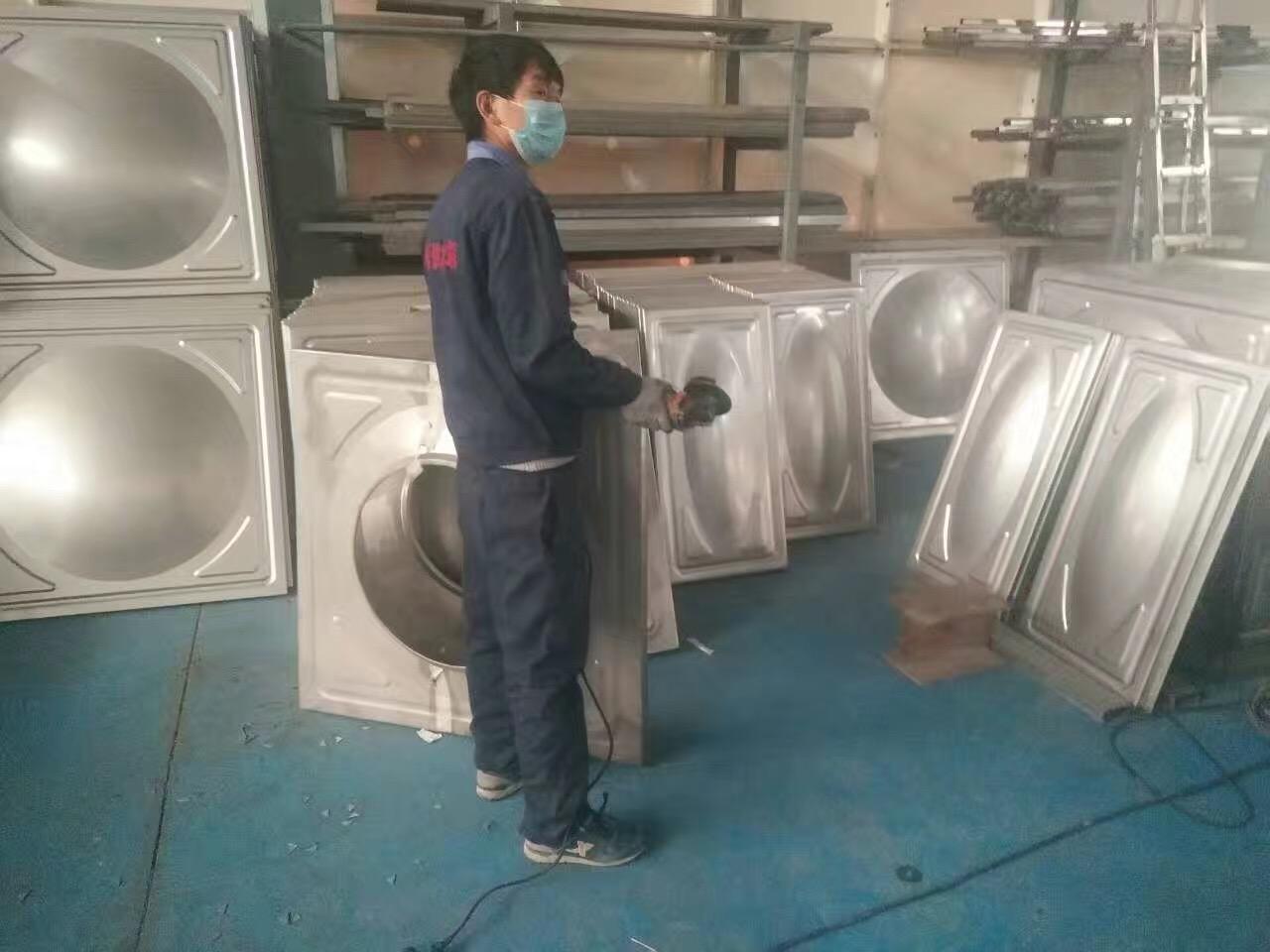 西安供水设备工厂一隅